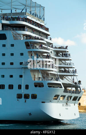 MSC Armonia Cruise Ship Ships Lighter Or Tender Small Boat For - Msc armonia