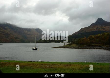 Loch Leven at Ballachulish, Highlands, Scotland - Stock Photo