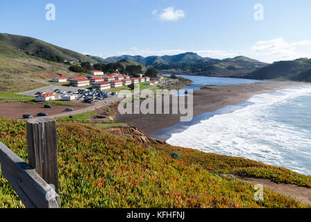 Fort Cronkhite former World War II US Army post, Golden Gate National Recreation Area, Marin County, California, - Stock Photo