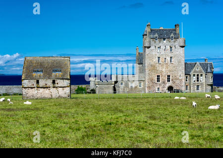 Ackergill Tower Hotel, Wick, Caithness, Scotland, United Kingdom - Stock Photo