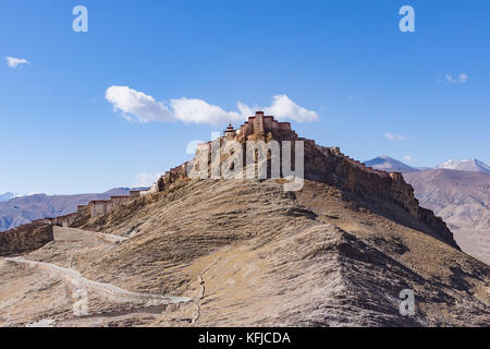 Gyantse Fort - Tibet - Stock Photo