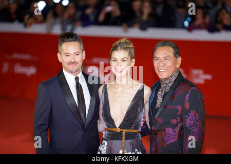 Rome, Italy. 29th Oct, 2017. Rome Cinema Fest 2017. Rome Film Festival. Photocall movie 'Hostiles'. Pictured: Wes - Stock Photo