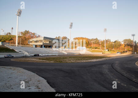 Seoul, South Korea. 30th Oct, 2017. Alpensia Cross-Country Centre, Oct 30, 2017 : Alpensia Cross-Country Centre - Stock Photo