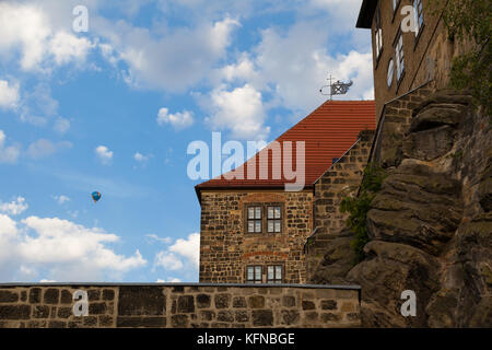 Welterbestadt Quedlinburg Schloss - Stock Photo