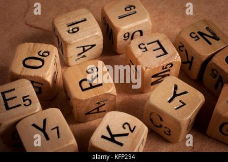 letter dices - dyslexia - education