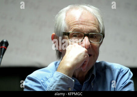 Athens, Greece. 31st Oct, 2017. British director KEN LOACH give a press conference during the 30th Panorama of European - Stock Photo