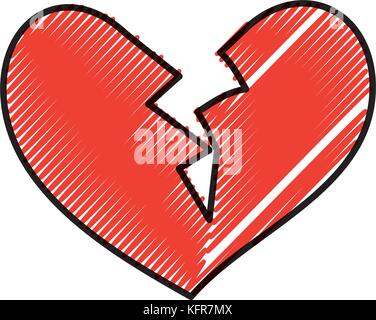 Broken Heart Concept For Divorce End Of Relationship Love Story