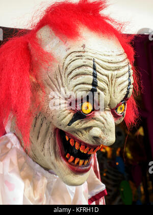 Halloween mask - London, England - Stock Photo