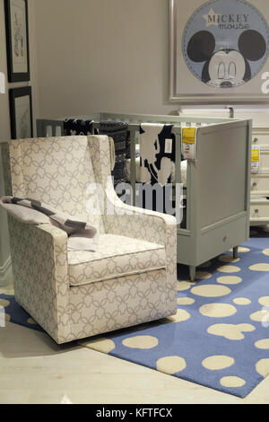 Ethan Allen Interiors Furniture Store, NYC, USA   Stock Photo