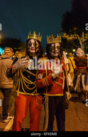 Los Angeles, USA. 31st Oct, 2017. Special event - West Hollywood Halloween Carnaval on OCT 31, 2017 at West Hollywood, - Stock Photo