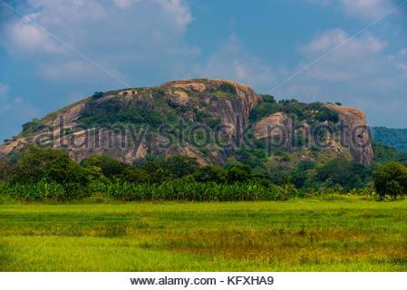 Mountain, North Central Province, Sri Lanka. - Stock Photo