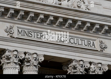 Ministerio de agricultura (Madrid, Spain). - Stock Photo