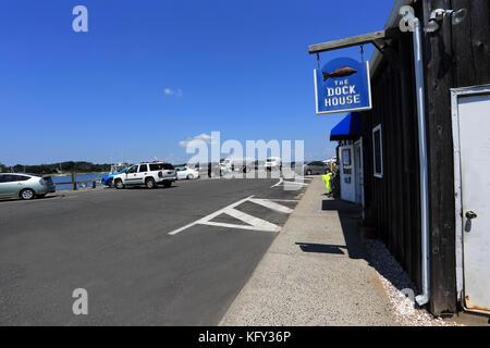 The Dock House Restaurant Sag Harbor Long Island New York Stock