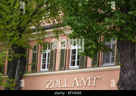 Quedlinburg Zollamt - Stock Photo