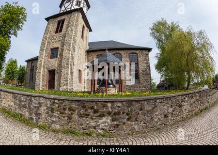 Kirche Straßberg Harz - Stock Photo