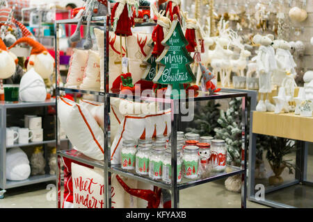 faec7a71f ... Christmas display the new Nordstrom Rack off-price store in the Herald  Square area of