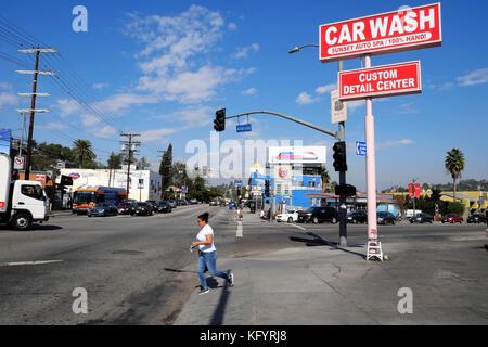 Car Wash On Sunset Blvd