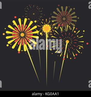 Fireworks and celebration - Stock Photo