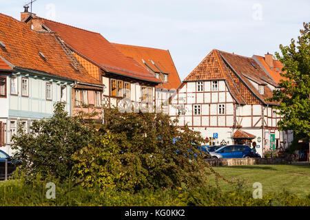 Weltkulturerbe Quedlinburg Harz - Stock Photo