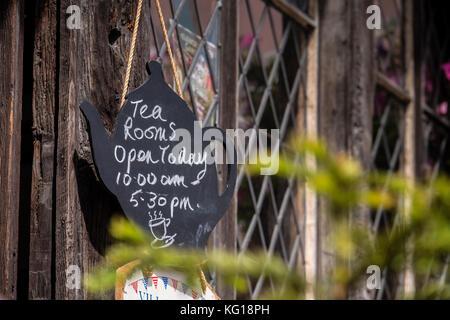 Tea Rooms Lavenham Suffolk England - Stock Photo