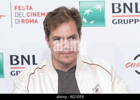 Rome, Italy. 2nd Nov, 2017. Michael Shannon attends the photocall of Trouble No More during the 12th Rome Film Fest - Stock Photo