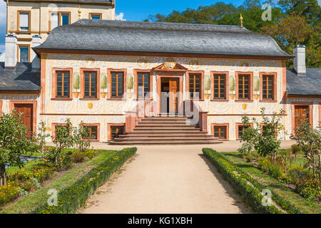pretlack sches gartenhaus prinz georg garten prince george garden stock photo royalty free. Black Bedroom Furniture Sets. Home Design Ideas