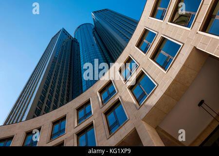 Frankfurt am Main, Hessen, Germany :  Tower 185 (PWC) - Stock Photo