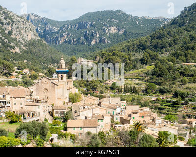 Valdemossa, Mallorca, Spain, Balearic Islands, Spain, Mediterranean, Europe - Stock Photo