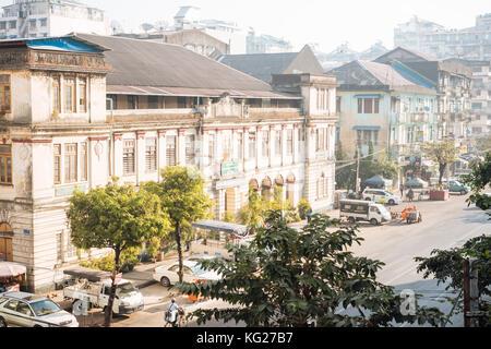 Yangon (Rangoon), Myanmar (Burma), Asia - Stock Photo