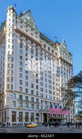 The Plaza Hotel, New York City, NY, USA - Stock Photo