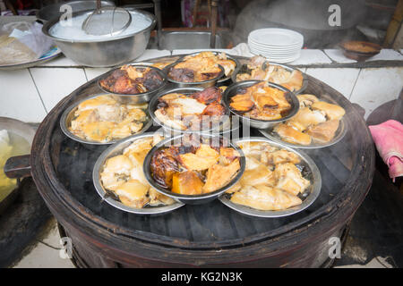 Sichuan street food in chaina - Stock Photo