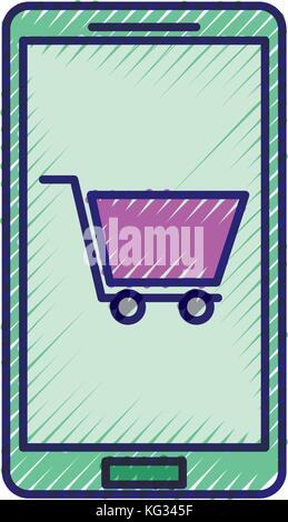 online buy mobile app digital technology - Stock Photo