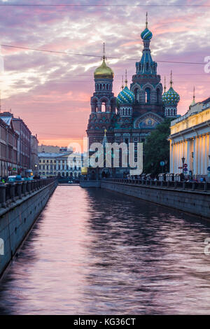 Church of the spilled blood - Stock Photo