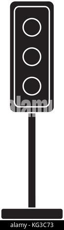 Semaphore traffic lights - Stock Photo
