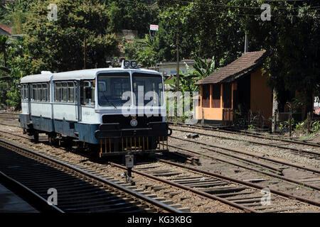 Peradeniya Junction Station Kandy Central Province Sri Lanka Rail Bus - Stock Photo