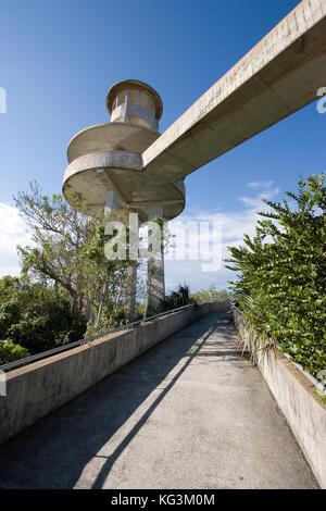 Shark Valley Observation tower, Everglades National Park, FL - Stock Photo