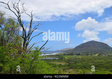 Makapu'u Point - Oahu, Hawaii - Stock Photo