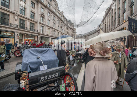 Regent Street, London, UK. 4 November, 2017. As part of London Motor Week, the free to attend Regent Street Motor - Stock Photo