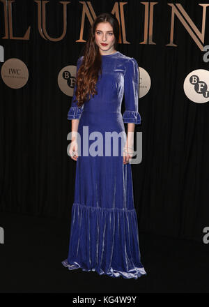 The BFI Fundraising Gala 'Luminous' held at the Guildhall - Arrivals  Featuring: Birdy Where: London, United Kingdom - Stock Photo