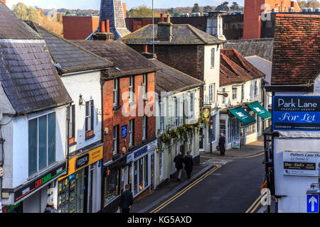 Market town of bishops stortford, hertfordshire, england. uk, gb, europe - Stock Photo