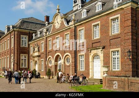 Schloss Nordkirchen (castle), Nordkirchen, Münsterland, North Rhine-Westphalia, Germany - Stock Photo