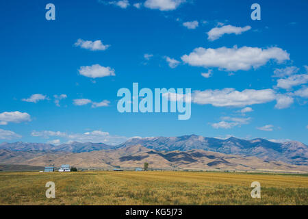 Sawtooth National Forest, Idaho, USA - Stock Photo