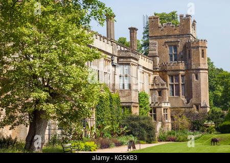 England, Cotswolds, Gloucestershire, Winchcombe, Sudeley Castle - Stock Photo