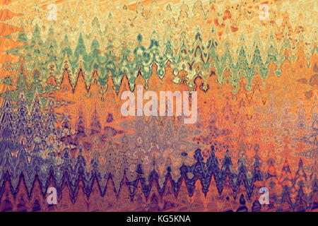 Abstract colourful textured art - Stock Photo