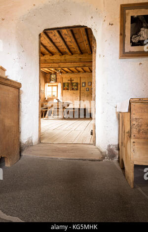 A View Of The Interior An Old Country House In Sarntal Bolzano Province