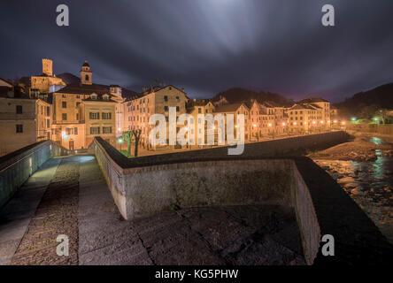Campo Ligure, park of Beigua, Province of Genoa, Liguria, Italy - Stock Photo