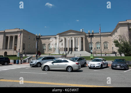The District of Columbia Court of Appeals Building in Washington DC, United States. - Stock Photo