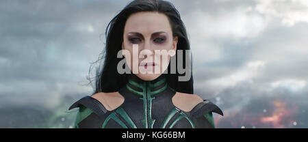 THOR: RAGNAROK 2017 Village Roadshow Studios film with Cate Blanchett as Hela - Stock Photo