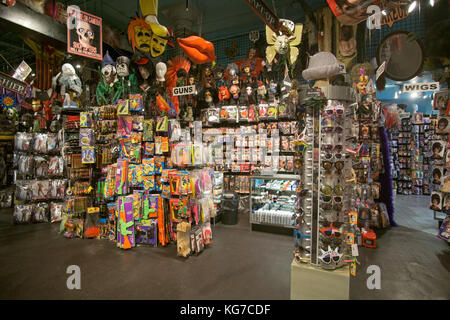 Inside the Halloween Adventure costume shop on Broadway in ...