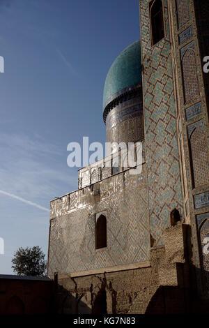 Uzbekistan Bibi Khanum Mosque Samarkand - Stock Photo